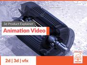 3D Product Ex plainer Animation Video