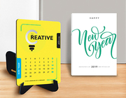 Looking for Unique Personalized Desk Calendar Designs 2019