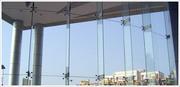 Exterior Glass Work In Chennai,  Spider Fitting Glass Work In Chennai