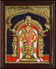 Rudra The mightiest of the mighty Tanjore Paintings